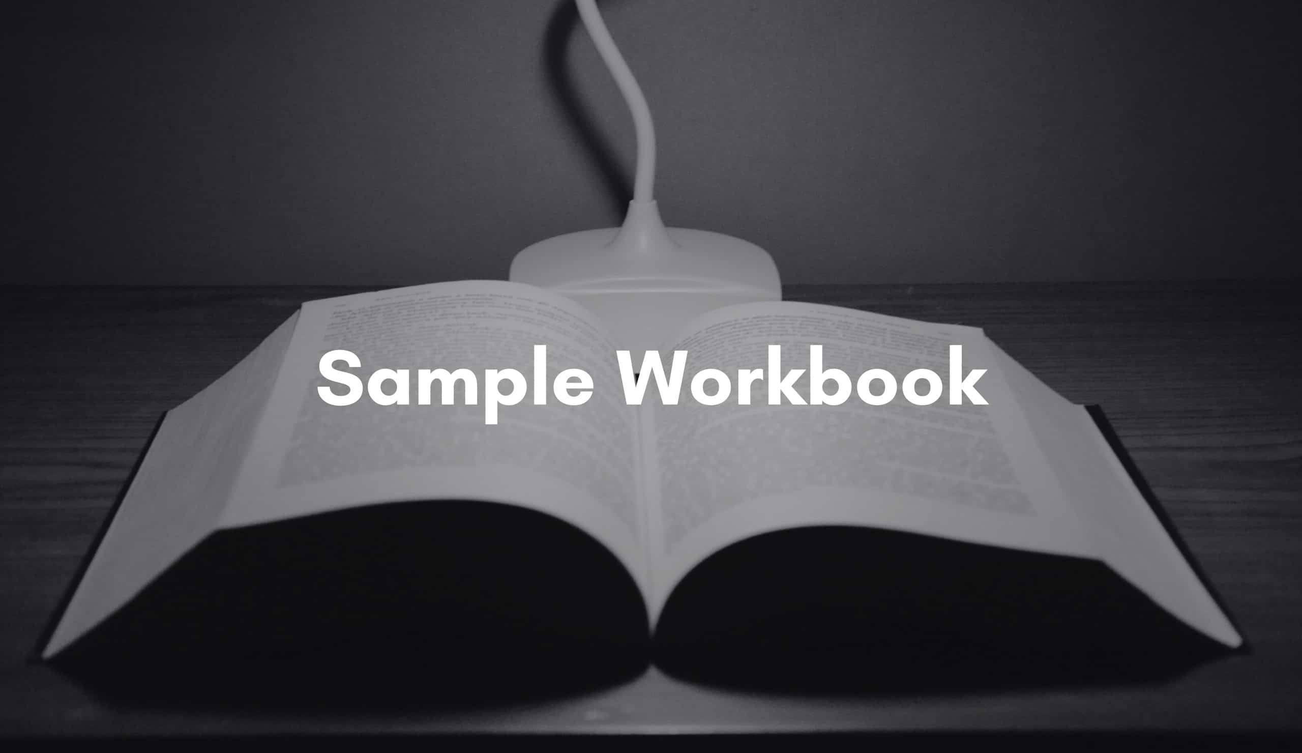 A CASAC-T watching a Sample Online CASAC Learning course workbook